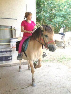 Marie pascale gauffre, responsable de la ferme équestre Daoudou